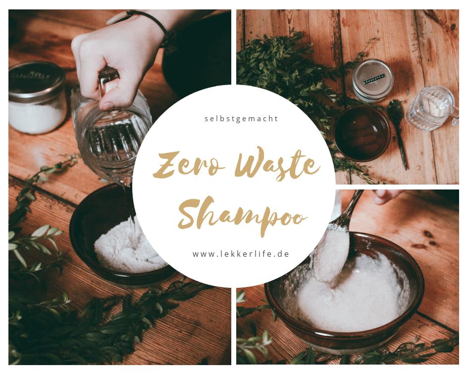 Roggenmehlshampoo Zero Waste