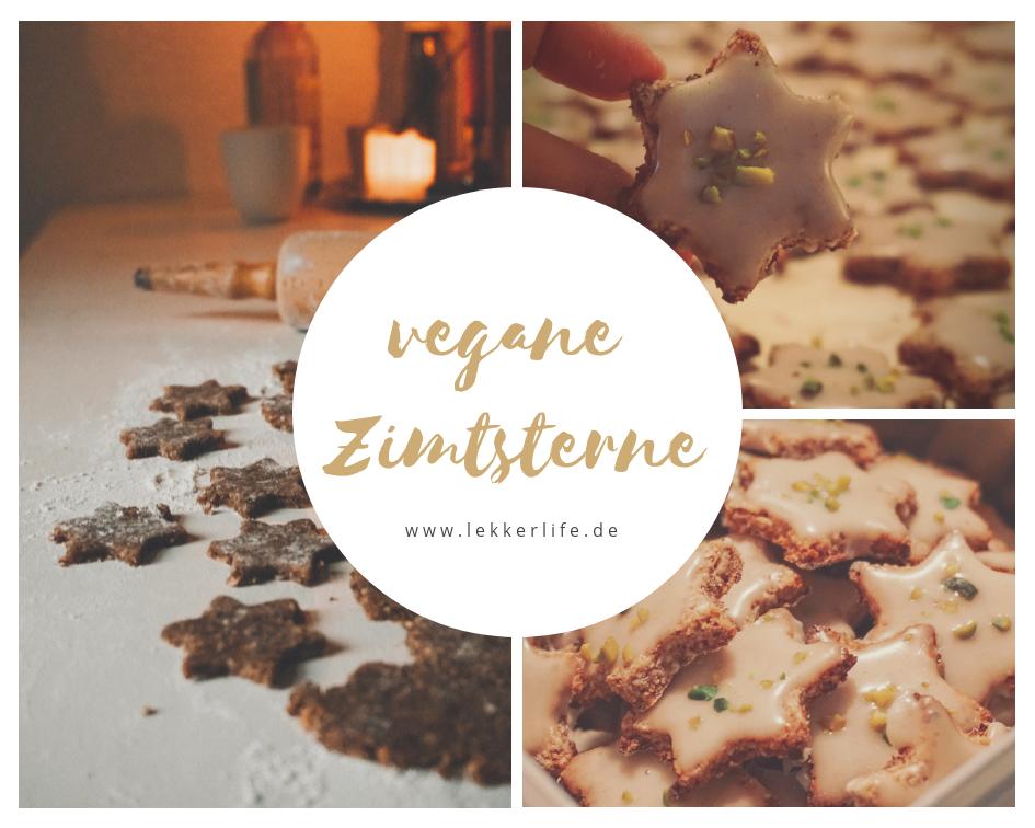 Rezept für vegane Zimtsterne - Lekkerlife.de