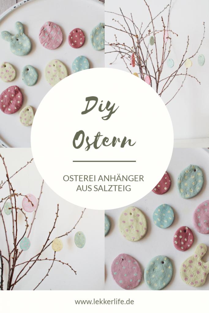Ostern DIY Salzteig