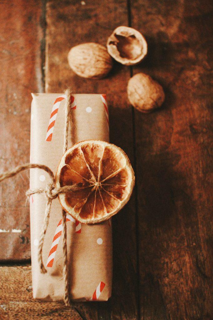 DIY Deko  Getrocknete Orangenscheiben