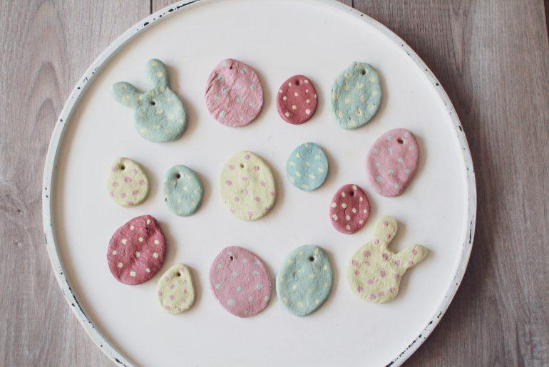 DIY Anhänger aus Salzteig für Ostern
